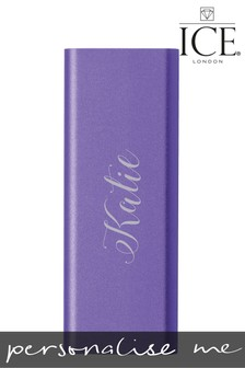 Personalised Portable Charger By ICE London