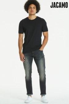 Jacamo Verwaschene Slim Fit Jeans mit Stretch