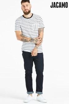 Jacamo Beschichtete Slim Fit Jeans mit Stretch