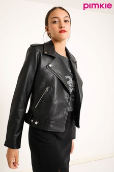 Pimkie Faux Leather Biker Jacket