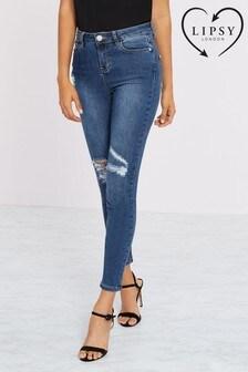 Lipsy Kate Mid Rise Skinny Short Length Jeans