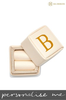 Personalised Single Ring Box By HA Designs