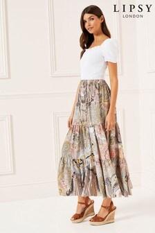 Lipsy Boho Paisley Skirt