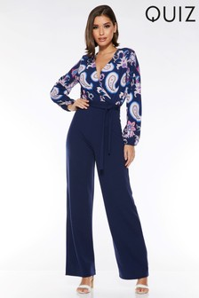e5f26fe2eb4 Quiz Two In One Floral Jumpsuit