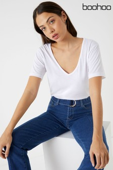 3f6692cd2e5 Womens Boohoo Tops   T Shirts
