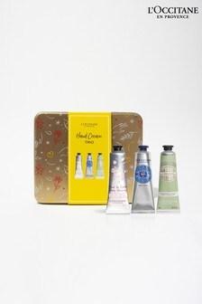 L'Occitane Hand Cream Trio (Worth £24)
