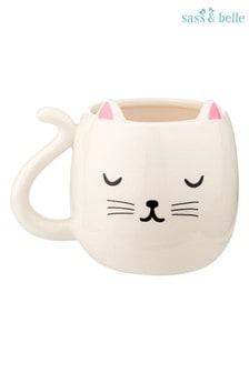 Sass & Belle Cutie Cat Mug