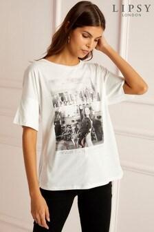 Lipsy Girl Graphic T-Shirt