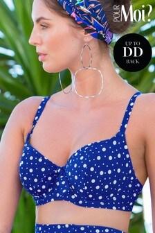 Pour Moi Mini Maxi Sweetheart Lightly Padded Underwired Bikini Top
