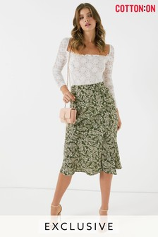 Cotton On Slip Midi Skirt