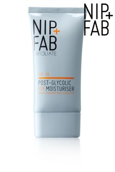 Nip+Fab Glycolic Hydrating Moisturiser, Post Glycolic Protection SPF 30 40ml