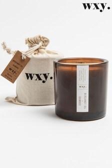 Wxy Big Amber Candle 12.5oz Bergamot + Bamboo