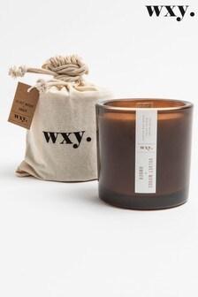 Wxy Big Amber Candle 12.5oz Velvet Woods + Amber