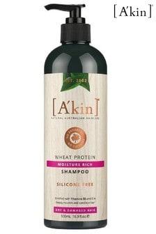A'kin Moisture Rich Wheat Protein Shampoo