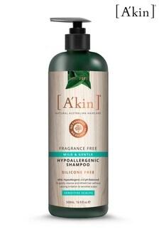 A'kin Fragrance Free Shampoo 500ml
