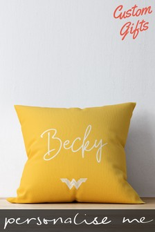 Personalised Wonder Woman™ Cushions by Custom Gifts