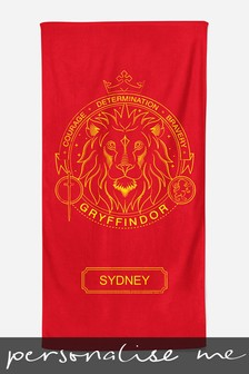 Personalised Harry Potter™ Beach Towel by Custom Gifts