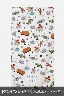 Personalised Friends™ Beach Towel by Custom Gifts