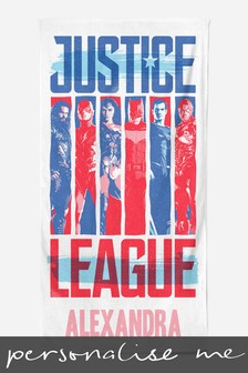 Personalised Justice League™ Beach Towel by Custom Gifts