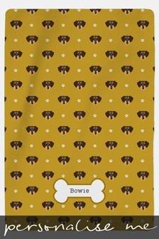 Personalised Pet Blanket by Custom Gifts