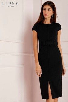 Lipsy Petite Belted Bodycon Dress