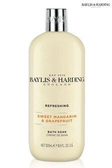 Baylis & Harding Sweet Mandarin & Grapefruit Moisturising Bath Soak 500ml