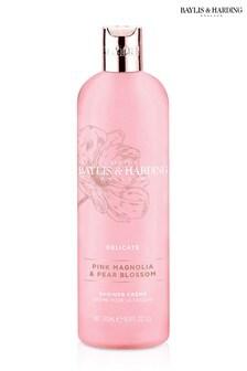 Baylis & Harding Pink Magnolia & Pear Blossom Moisturising Shower Crème 500ml