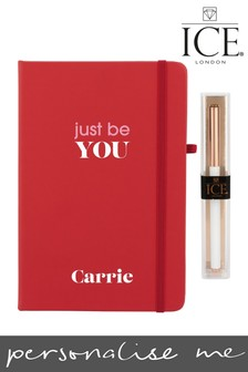 Personalised Just Be You Notebook and Pen by Ice London