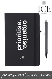 Personalised Prioritise/Organised Notebook by Ice London