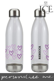 Personalised Hearts Sunset Bottle By Ice London