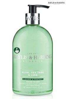 Baylis & Harding Aloe, Tea Tree & Lime Anti Bacterial Hand Wash 500ml