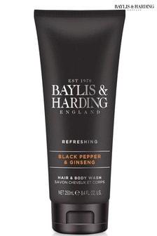 Baylis & Harding Black Pepper & Ginseng Hair & Body Wash 250ml