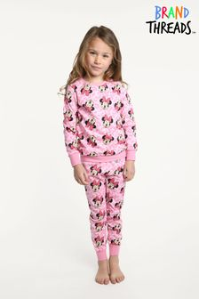 Brand Threads Disney - Minnie Mouse Girls Printed Pyjamas