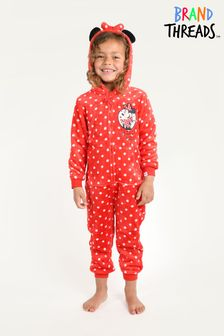 Brand Threads Disney - Minnie Mouse Girls Onesie