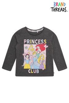 Brand Threads Disney Princesses Girls T-Shirt
