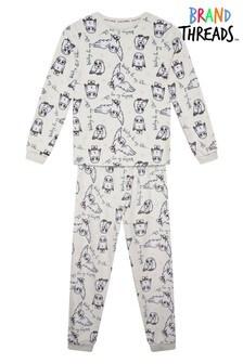 Brand Threads Harry Potter - Hedwig Girls Divine Fleece Pyjamas