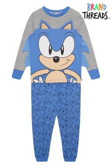 Brand Threads Sonic The Hedgehog Boys Pyjamas