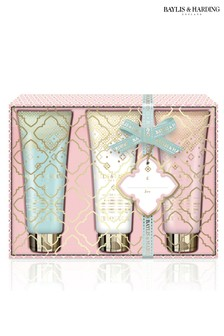 Baylis & Harding Pink Prosecco & Elderflower 3 Hand Cream Set
