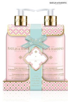Baylis & Harding Pink Prosecco & Elderflower 2 Bottle Set