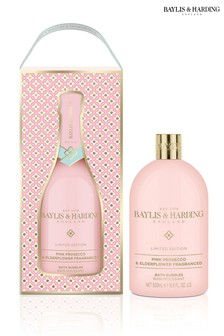 Baylis & Harding Pink Prosecco & Elderflower 500ml Bath Bubbles