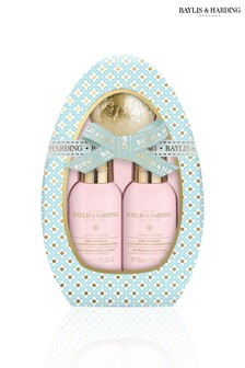 Baylis & Harding Pink Prosecco & Elderflower Egg Gift Set - Blue