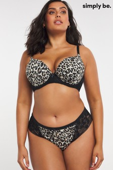 Simply Be 2 Pack Brazilian Brief