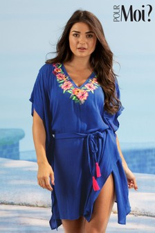 Pour Moi Heatwave Embroidered Kaftan