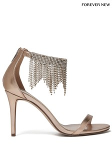 Forever New Embellished Ankle Heels