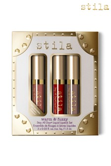 Stila Warm And Fuzzy Liquid Lipstick Trio