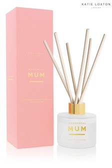 Katie Loxton Sentiment Reed Diffuser | Wonderful Mum | White Orchid and Soft Cotton |100ml