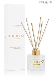 Katie Loxton Sentiment Reed Diffuser | Happy Birthday | Pomelo and Lychee Flower |100ml