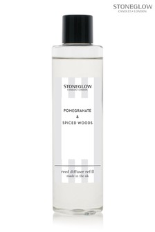 Stoneglow Modern Classics Pomegranate and Spiced Woods Diffuser Refill