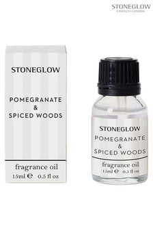 Stoneglow Modern Classics Pomegranate and Spiced Woods 15ml Fragrance Oil