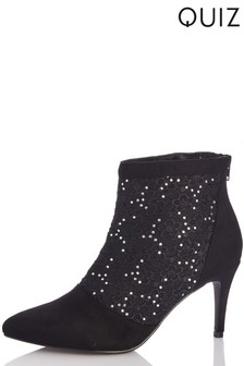 Quiz Stiletto Boots